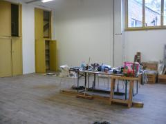 turnzaal wordt werkruimte